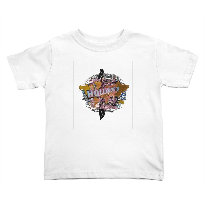 Holly Wood Kids Toddler T-Shirt by tzarts's Artist Shop