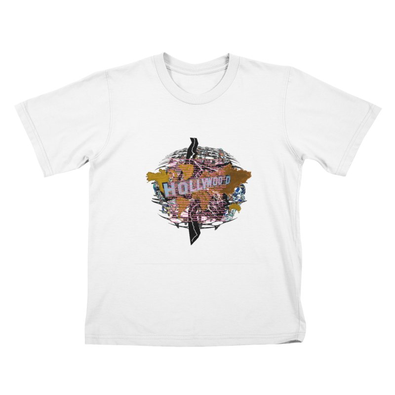 Holly Wood Kids T-shirt by tzarts's Artist Shop