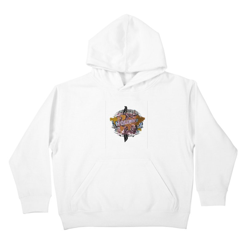 Holly Wood Kids Pullover Hoody by tzarts's Artist Shop