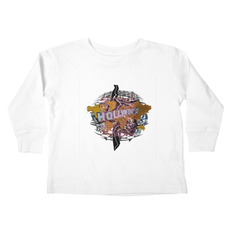 Holly Wood Kids Toddler Longsleeve T-Shirt by tzarts's Artist Shop