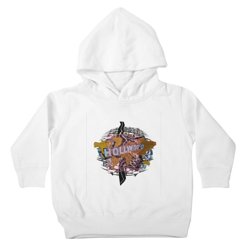 Holly Wood Kids Toddler Pullover Hoody by tzarts's Artist Shop