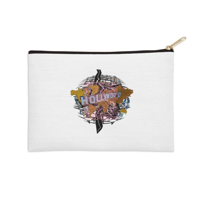 Holly Wood Accessories Zip Pouch by tzarts's Artist Shop