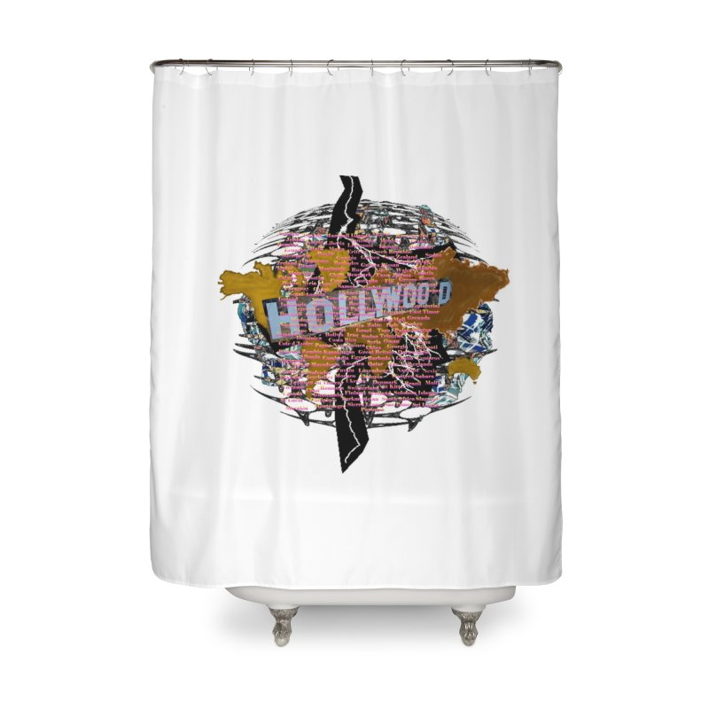 Holly Wood Home Shower Curtain by tzarts's Artist Shop