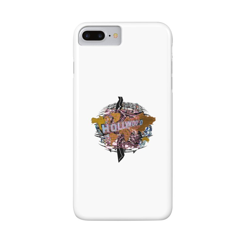 Holly Wood Accessories Phone Case by tzarts's Artist Shop