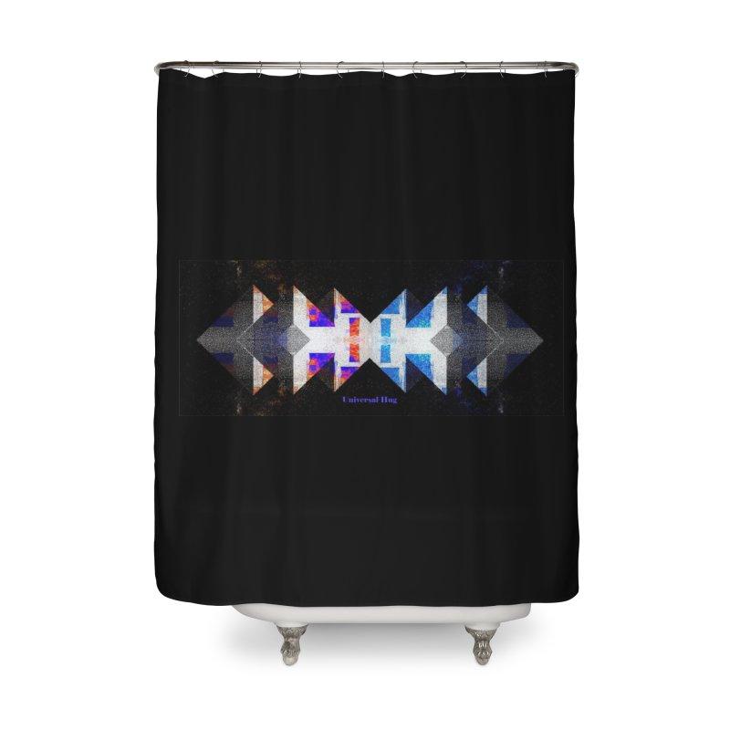 Universal Hug Home Shower Curtain by tzarts's Artist Shop