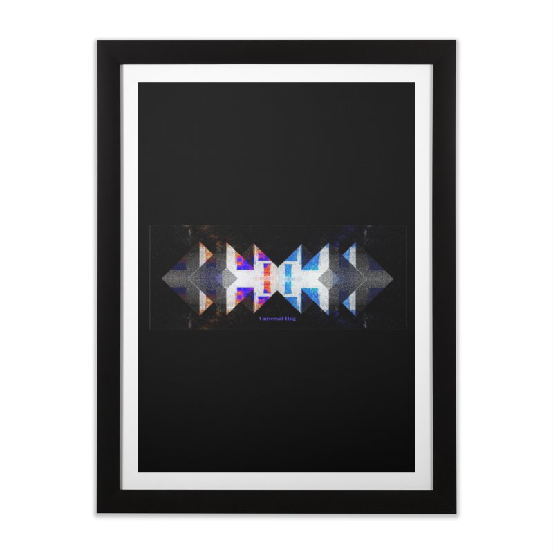 Universal Hug Home Framed Fine Art Print by tzarts's Artist Shop