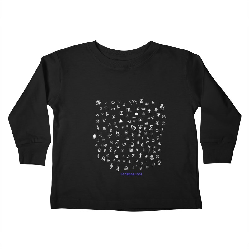 Symbalism Kids Toddler Longsleeve T-Shirt by tzarts's Artist Shop