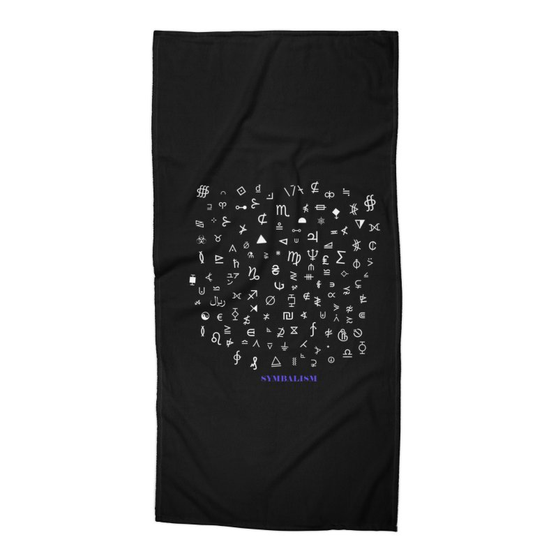 Symbalism Accessories Beach Towel by tzarts's Artist Shop