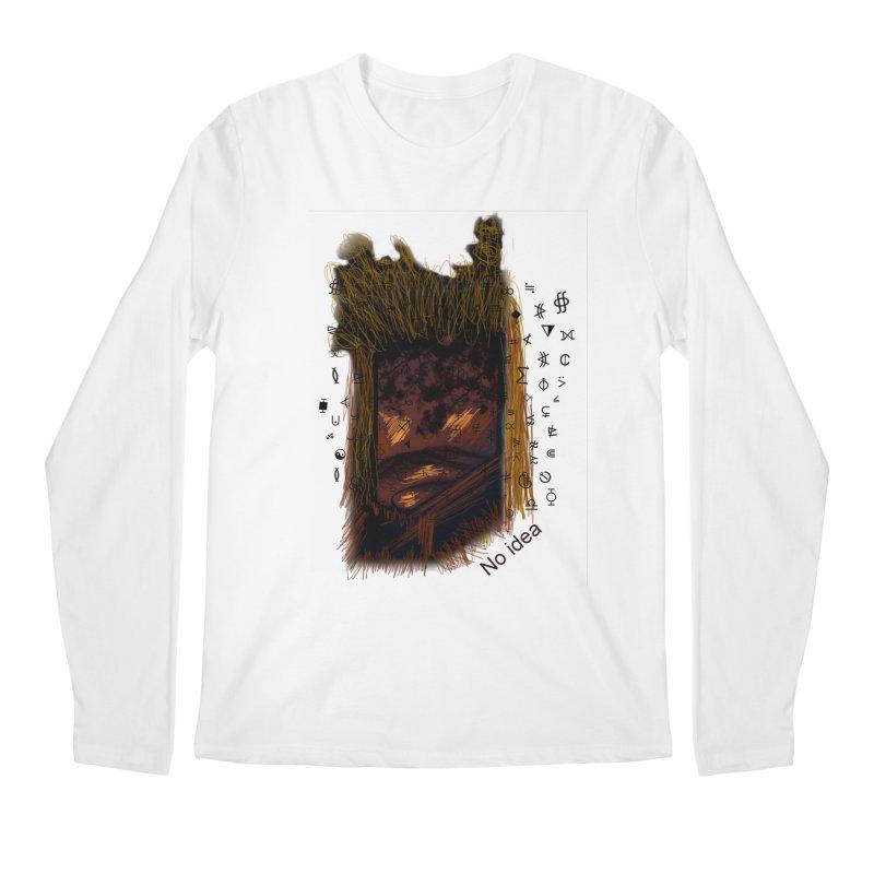 No idea Men's Longsleeve T-Shirt by tzarts's Artist Shop