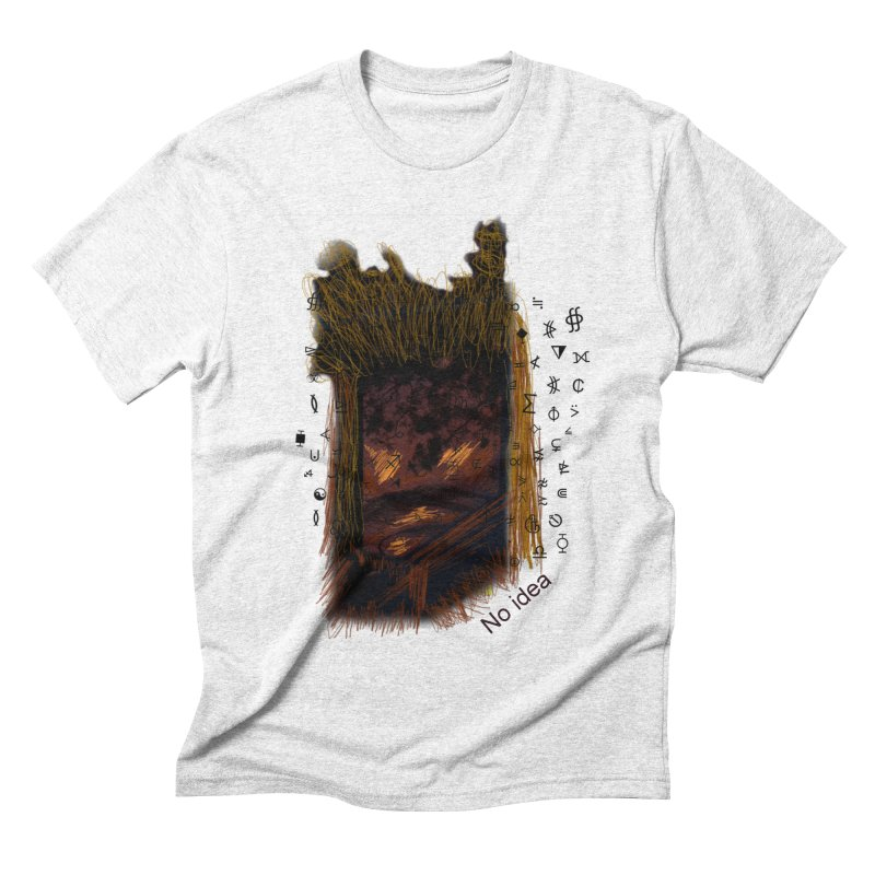 No idea Men's Triblend T-shirt by tzarts's Artist Shop