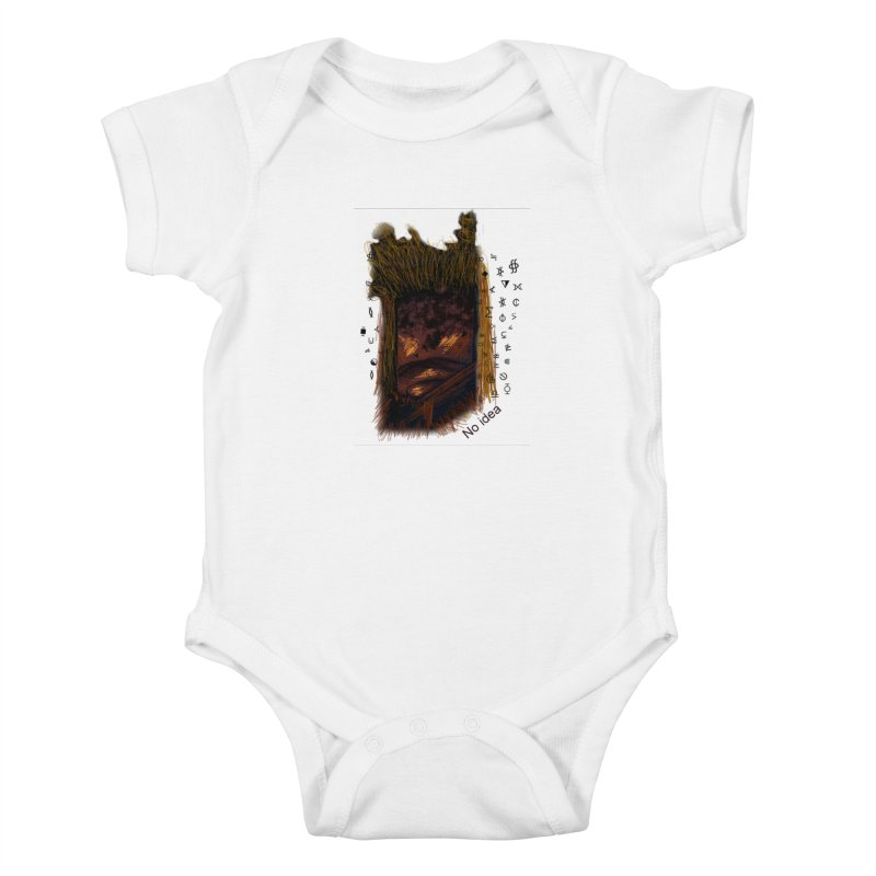 No idea Kids Baby Bodysuit by tzarts's Artist Shop
