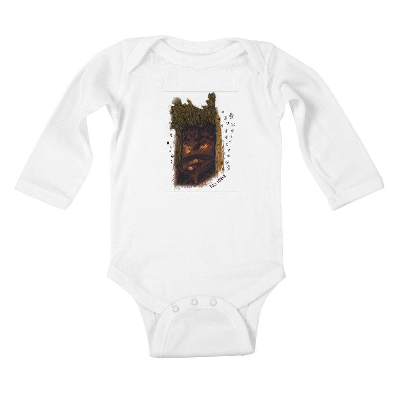 No idea Kids Baby Longsleeve Bodysuit by tzarts's Artist Shop
