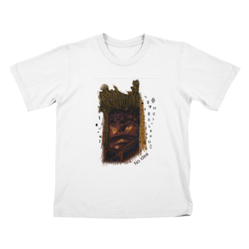 No idea Kids T-shirt by tzarts's Artist Shop