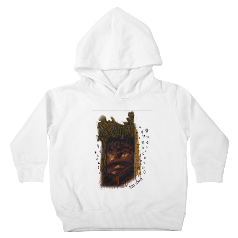 No idea Kids Toddler Pullover Hoody by tzarts's Artist Shop
