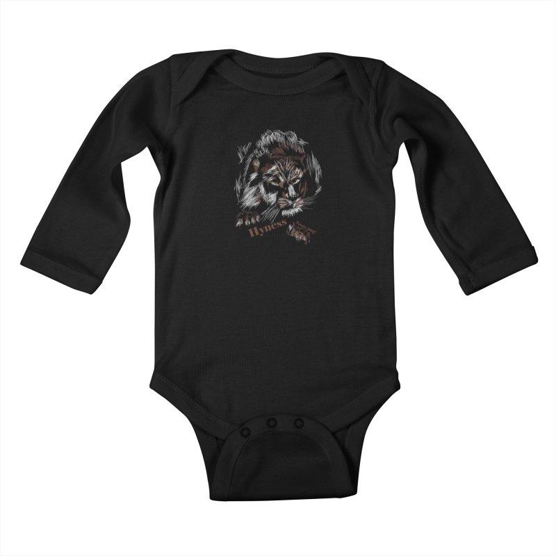 Your Hyness Kids Baby Longsleeve Bodysuit by tzarts's Artist Shop