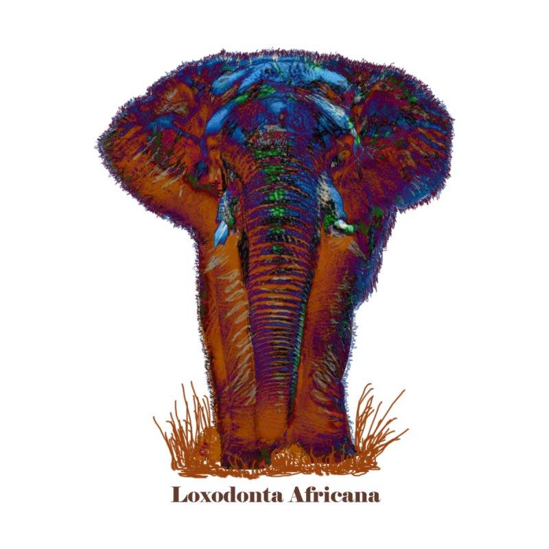 Loxodonta Africana None  by tzarts's Artist Shop