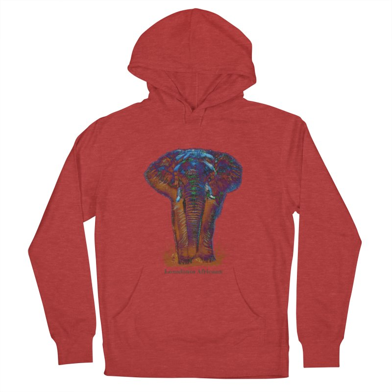 Loxodonta Africana Men's Pullover Hoody by tzarts's Artist Shop