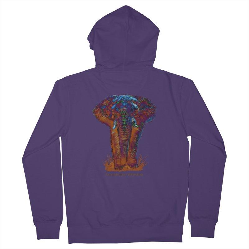 Loxodonta Africana Women's Zip-Up Hoody by tzarts's Artist Shop