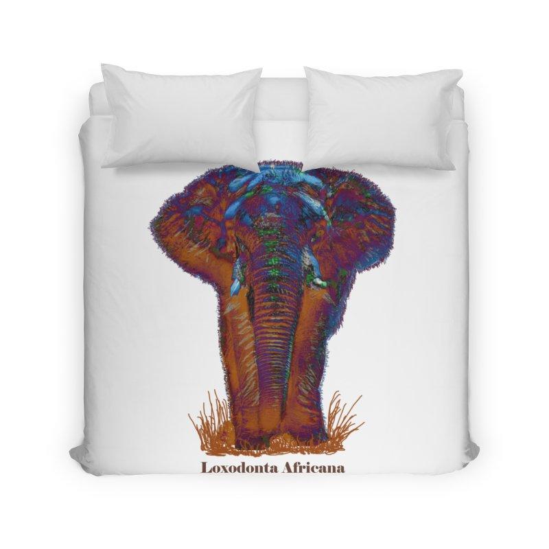 Loxodonta Africana Home Duvet by tzarts's Artist Shop