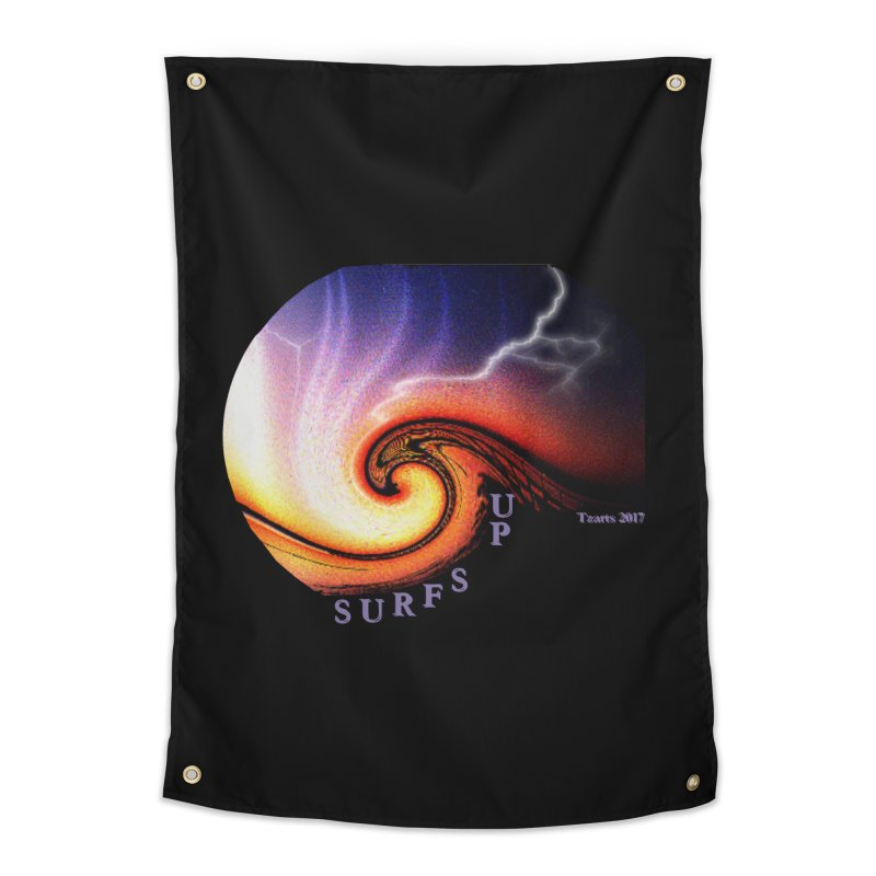 SURFS UP Home Tapestry by tzarts's Artist Shop