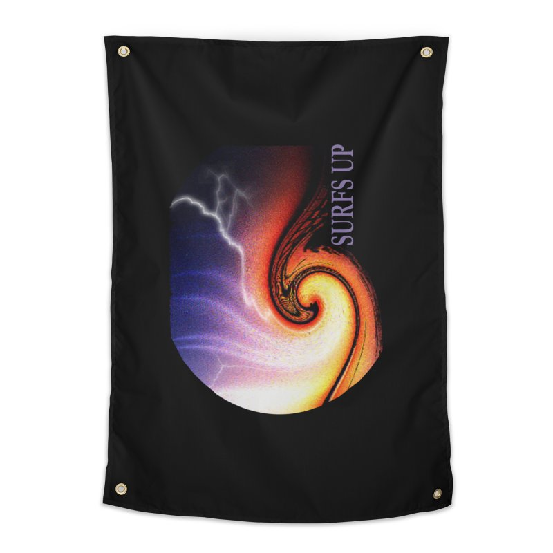 SURFS UP SHERPA BLANKETS Home Tapestry by tzarts's Artist Shop
