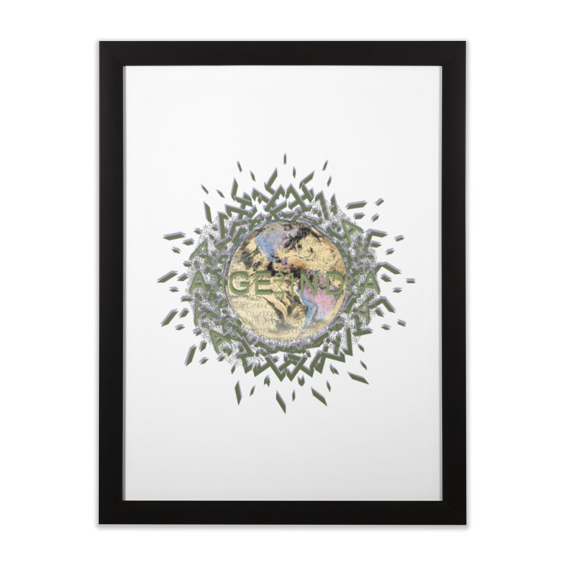 plain site Home Framed Fine Art Print by tzarts's Artist Shop