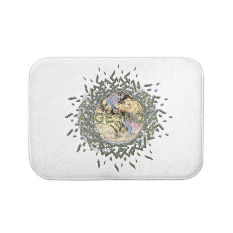 plain site Home Bath Mat by tzarts's Artist Shop