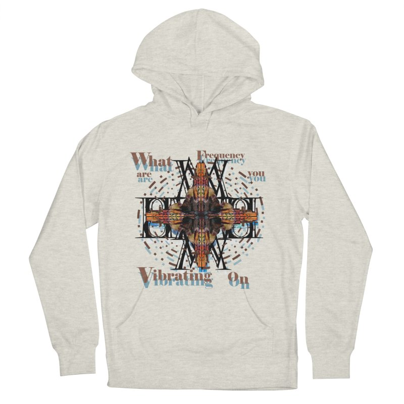 Frequency Women's Pullover Hoody by tzarts's Artist Shop