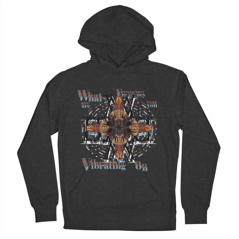Frequency Men's Pullover Hoody by tzarts's Artist Shop
