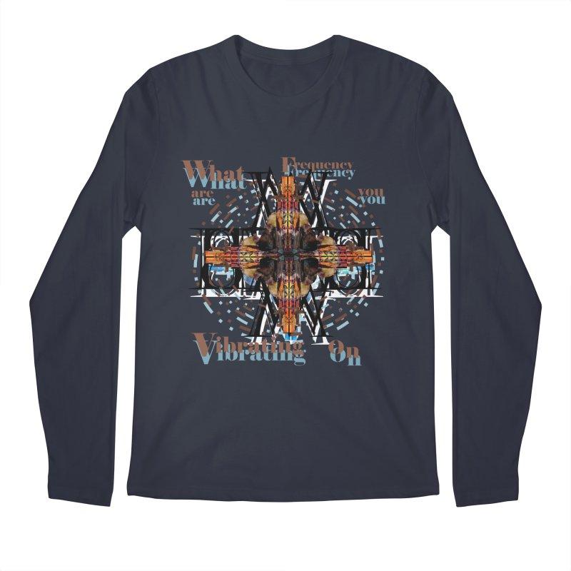 Frequency Men's Longsleeve T-Shirt by tzarts's Artist Shop