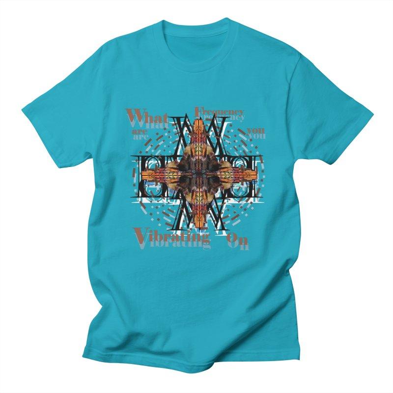 Frequency Men's T-shirt by tzarts's Artist Shop