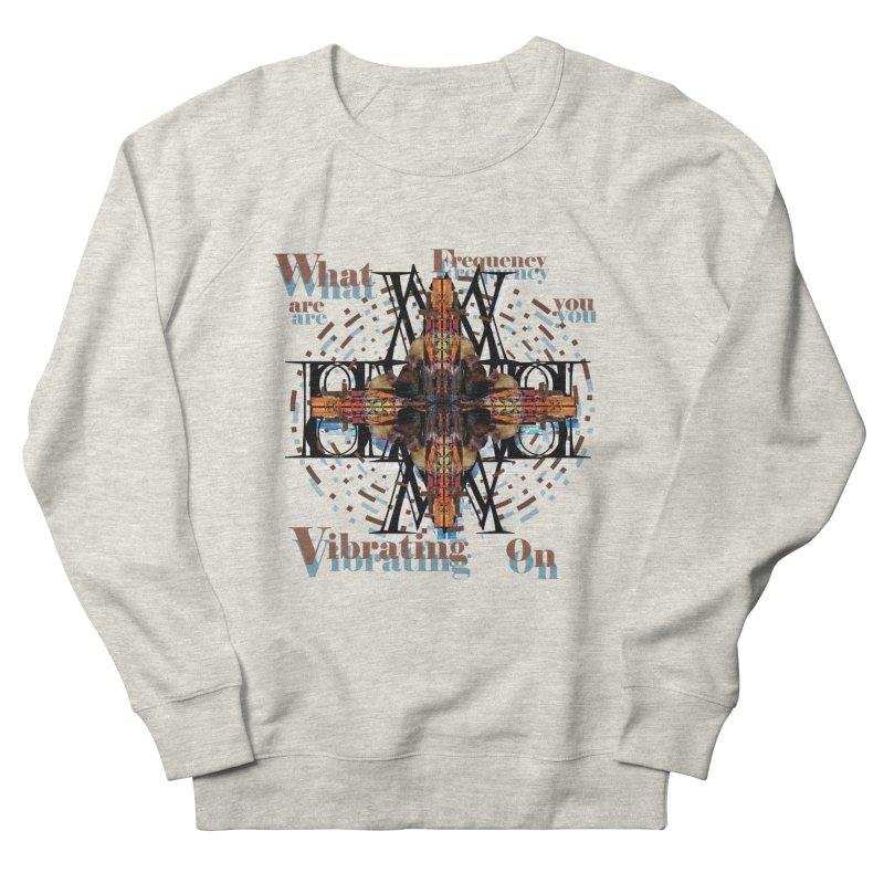 Frequency Men's Sweatshirt by tzarts's Artist Shop