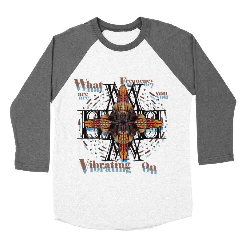 Frequency Men's Baseball Triblend T-Shirt by tzarts's Artist Shop