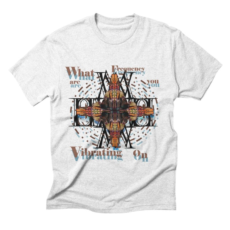 Frequency Men's Triblend T-shirt by tzarts's Artist Shop