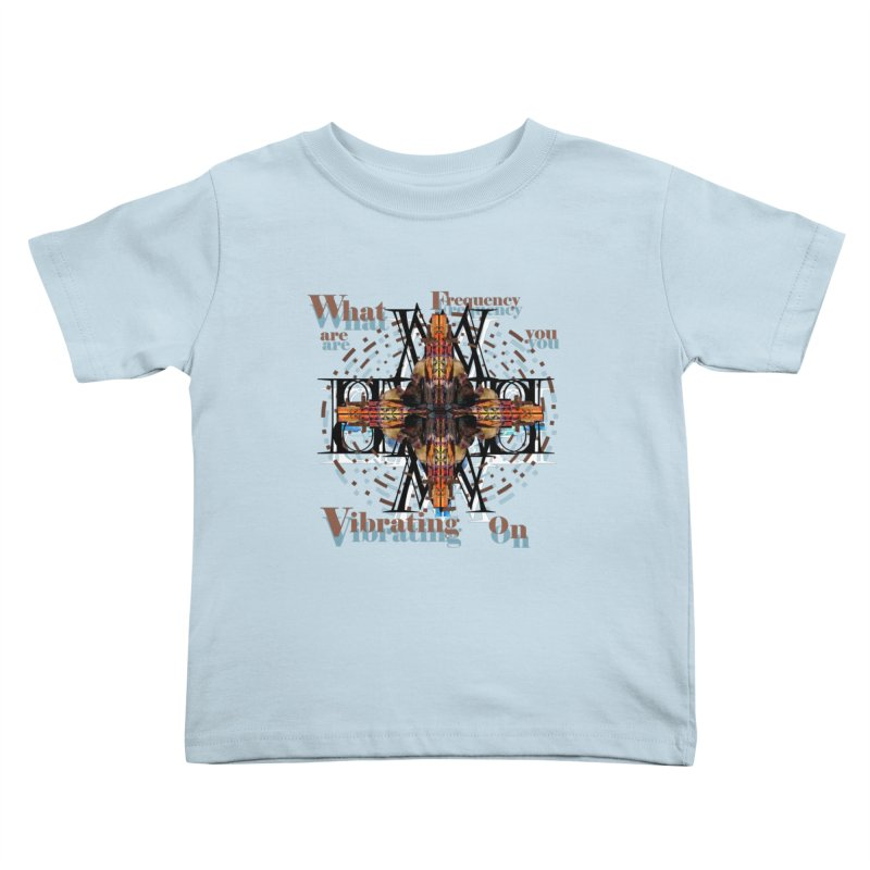 Frequency Kids Toddler T-Shirt by tzarts's Artist Shop