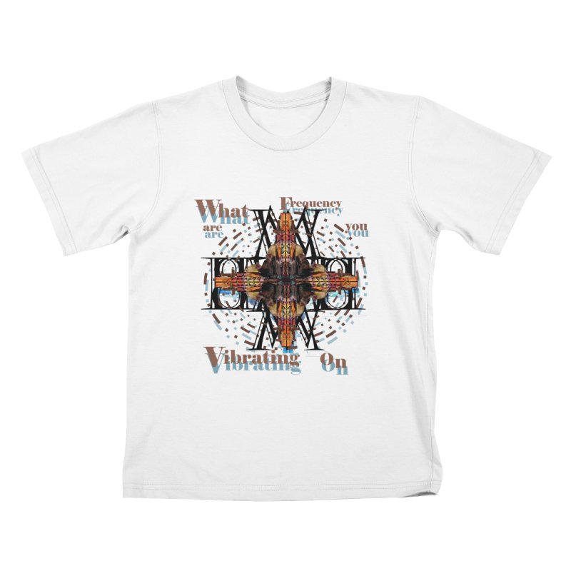 Frequency Kids T-shirt by tzarts's Artist Shop