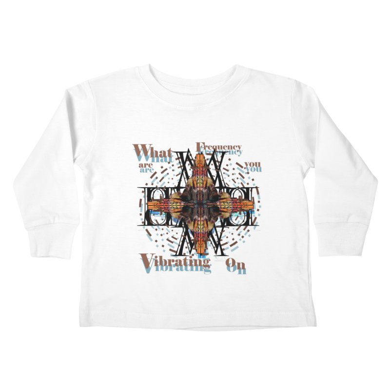 Frequency Kids Toddler Longsleeve T-Shirt by tzarts's Artist Shop
