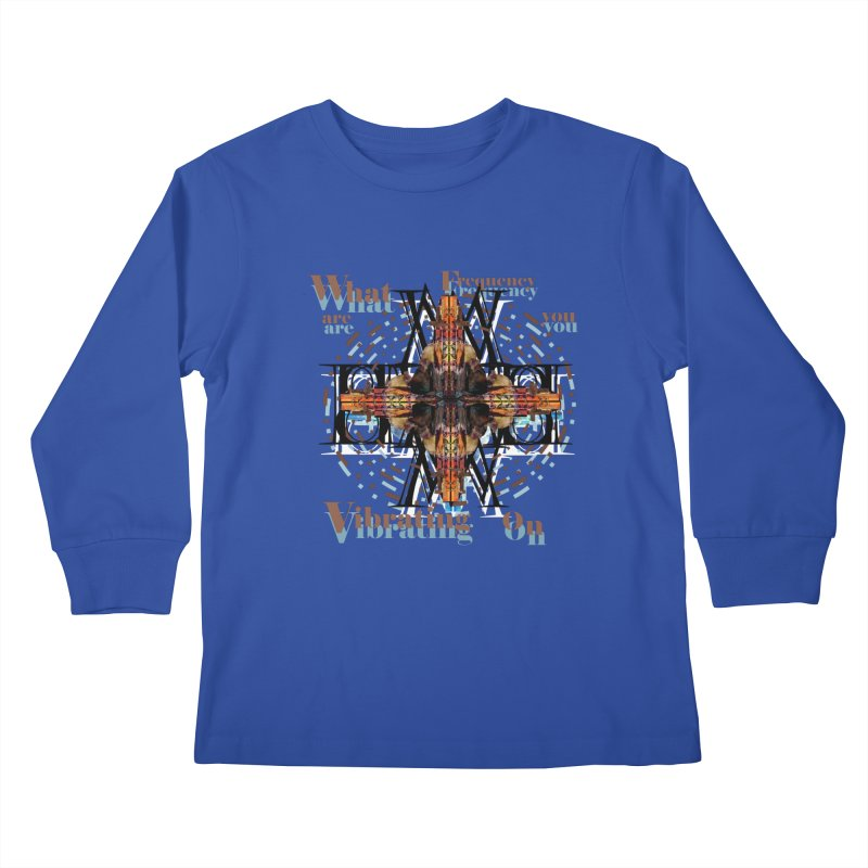 Frequency Kids Longsleeve T-Shirt by tzarts's Artist Shop