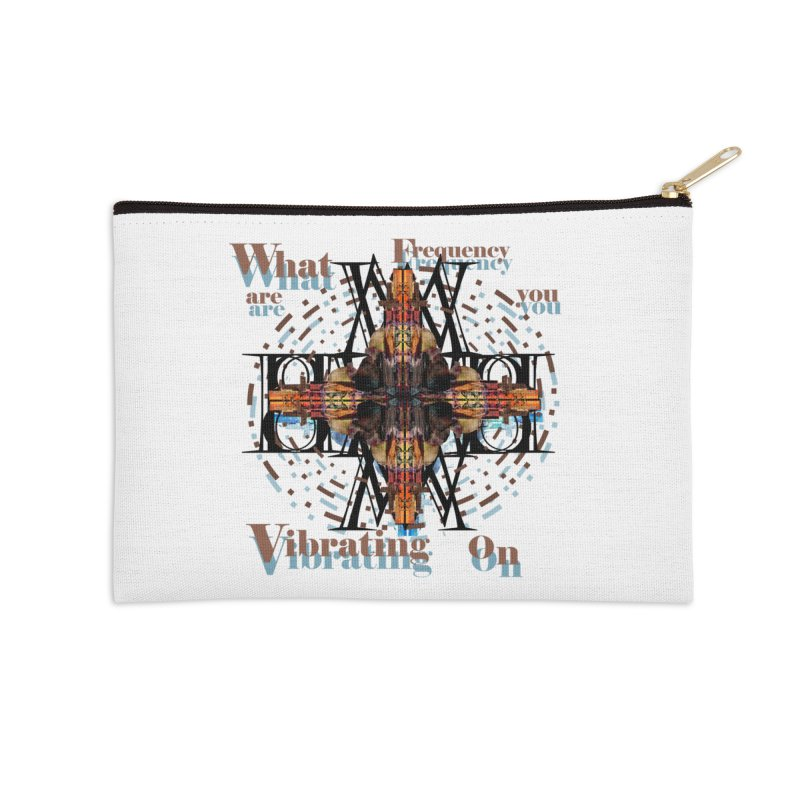 Frequency Accessories Zip Pouch by tzarts's Artist Shop