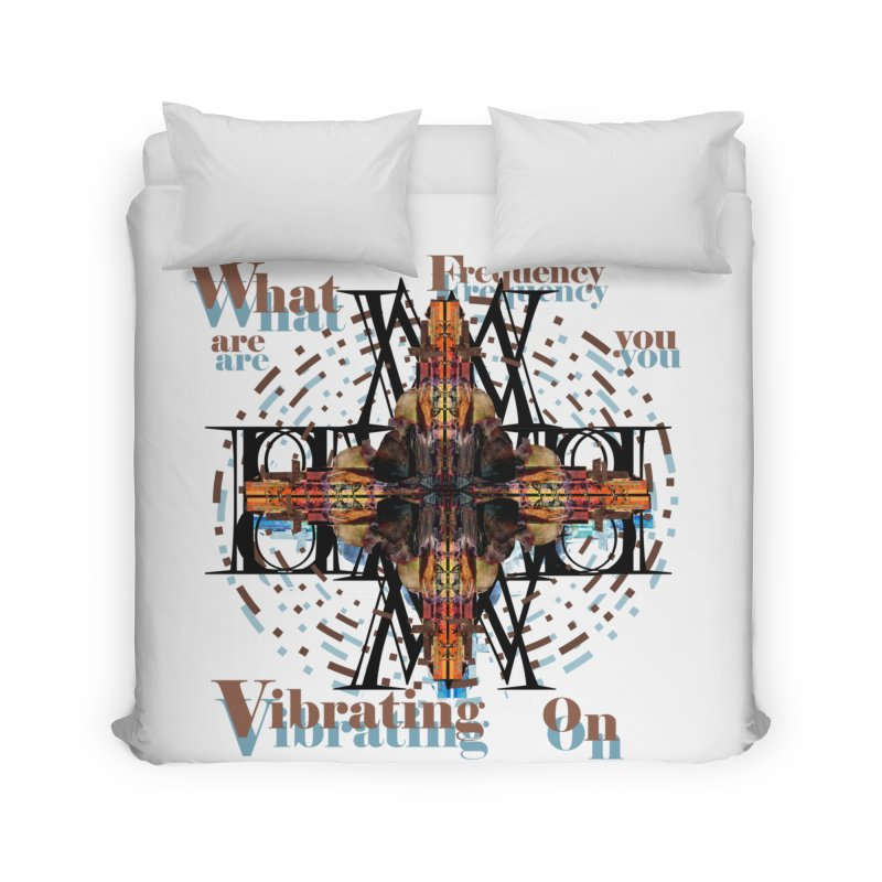 Frequency Home Duvet by tzarts's Artist Shop