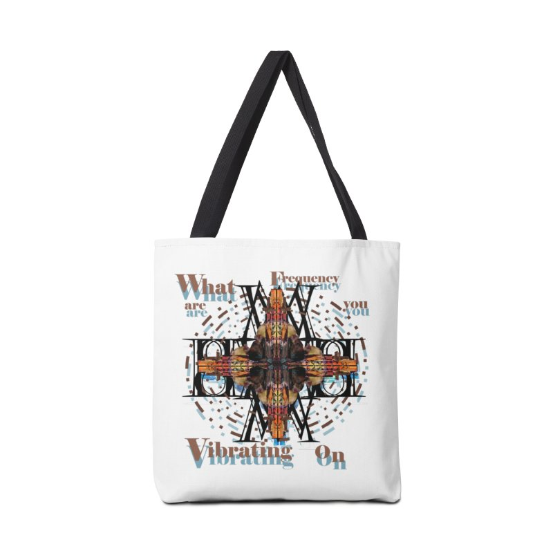 Frequency Accessories Bag by tzarts's Artist Shop