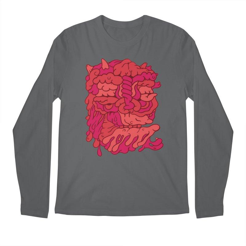 Head 173 Men's Longsleeve T-Shirt by uberkraaft's Artist Shop