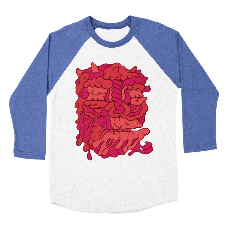 Head 173 Men's Baseball Triblend T-Shirt by uberkraaft's Artist Shop