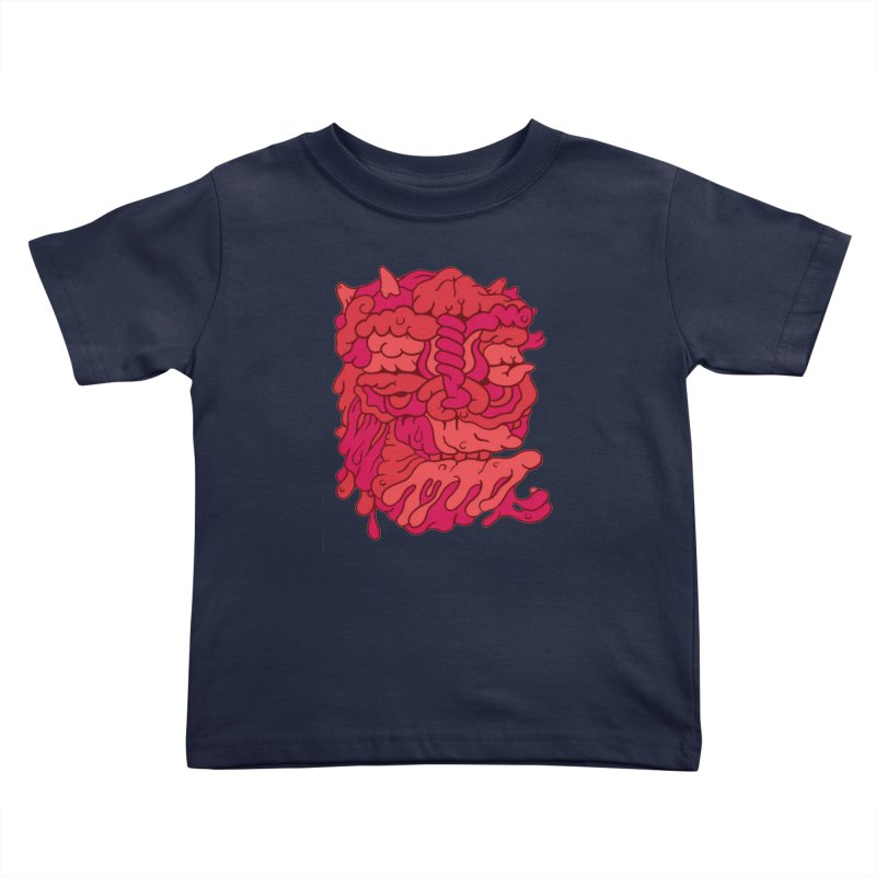 Head 173 Kids Toddler T-Shirt by uberkraaft's Artist Shop