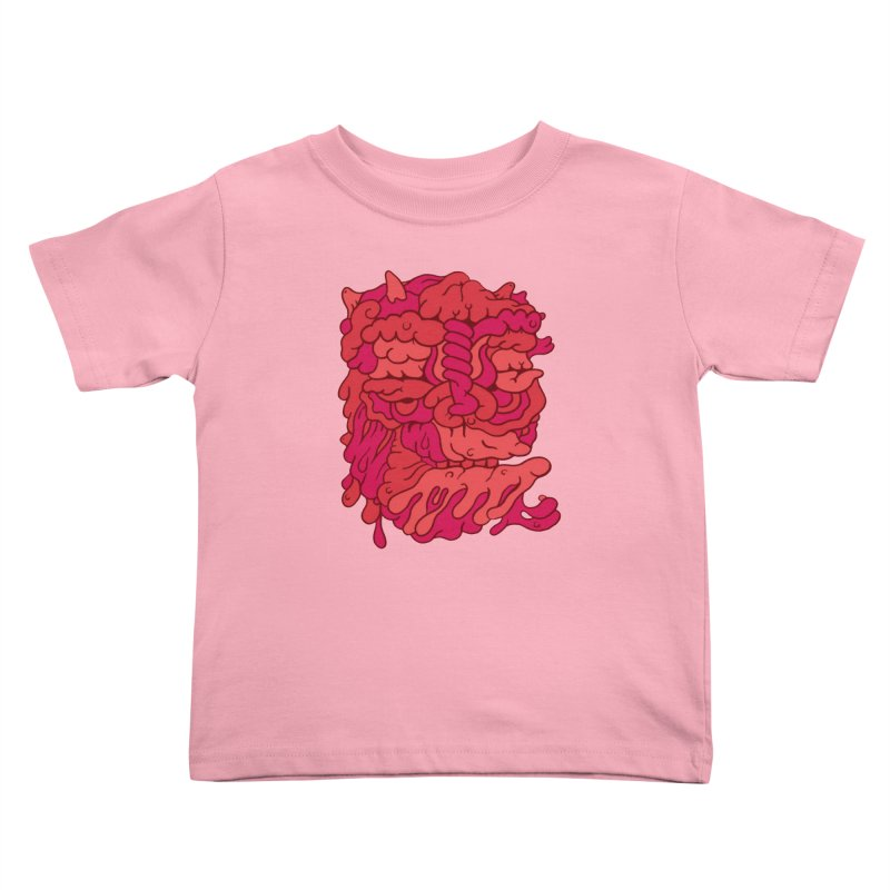 Head 173 Kids Toddler T-Shirt by uberkraaft's Artist Shop
