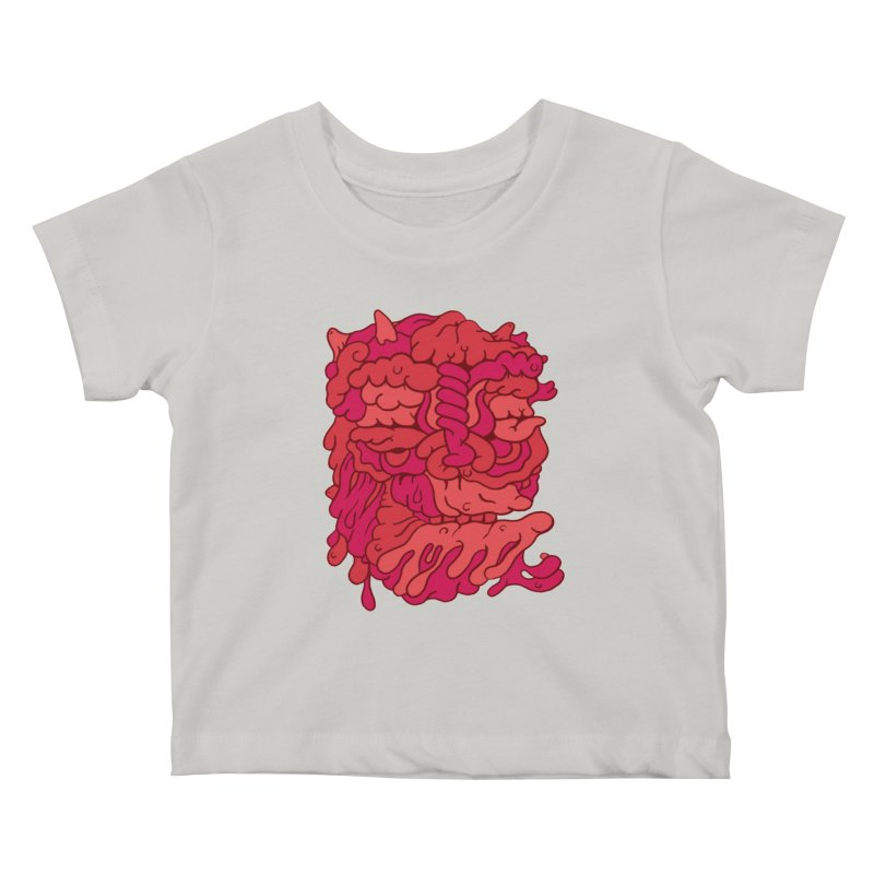 Head 173 Kids Baby T-Shirt by uberkraaft's Artist Shop