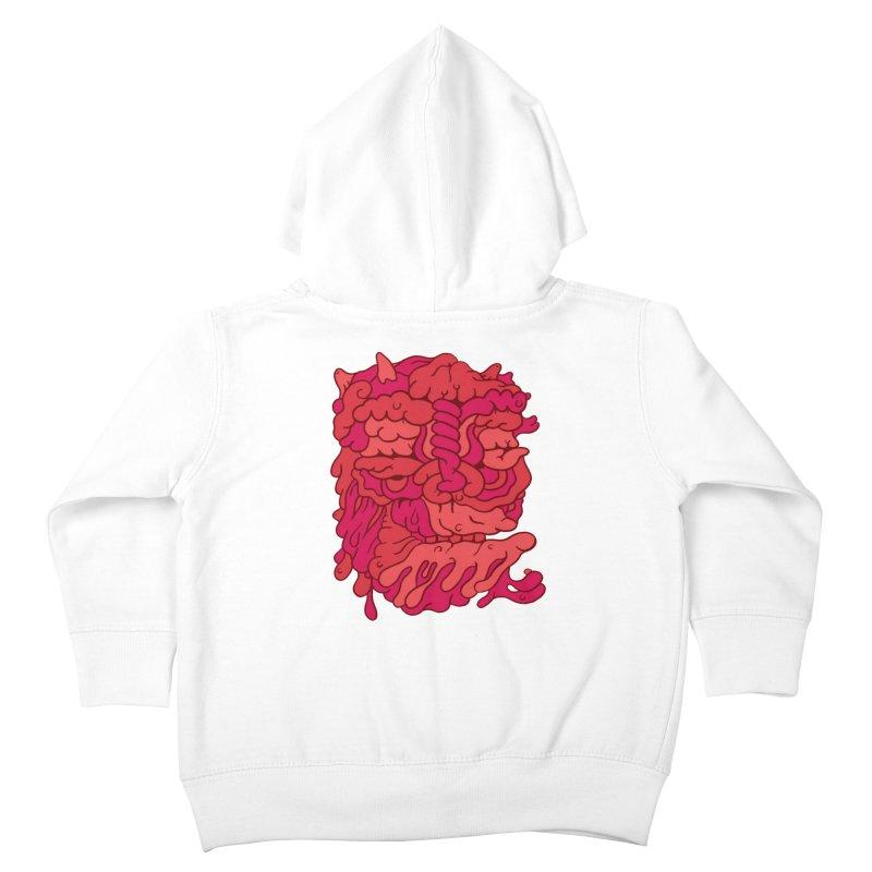 Head 173 Kids Toddler Zip-Up Hoody by uberkraaft's Artist Shop