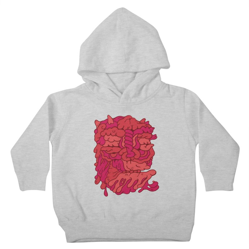 Head 173 Kids Toddler Pullover Hoody by uberkraaft's Artist Shop
