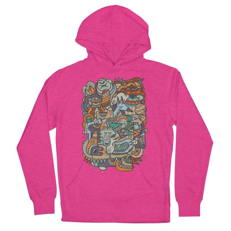 Punky dreamed of fairgrounds Men's Pullover Hoody by uberkraaft's Artist Shop