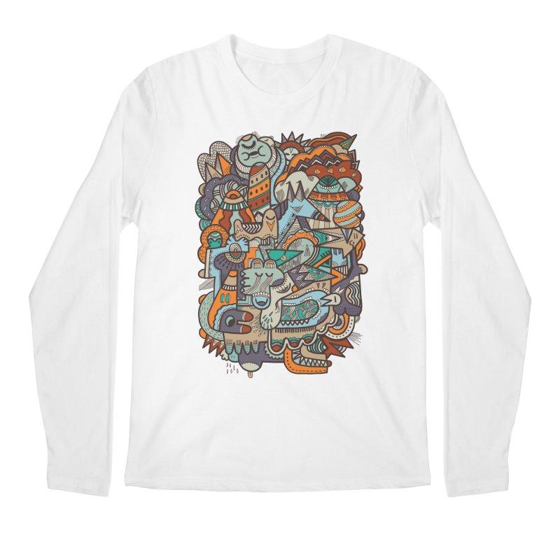 Punky dreamed of fairgrounds Men's Longsleeve T-Shirt by uberkraaft's Artist Shop